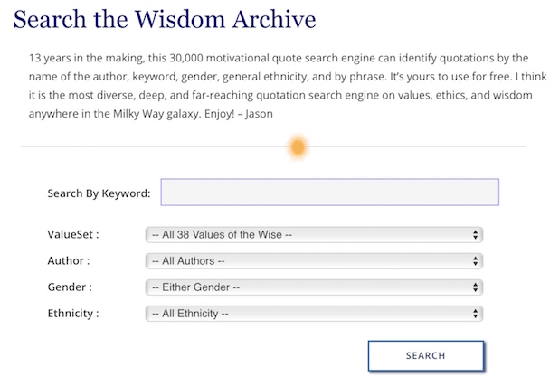 Quote Database Learn About Values Wisdom Values Of The Wise