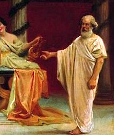the nature of values according to Socrates