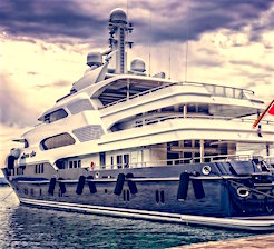 the wealthy